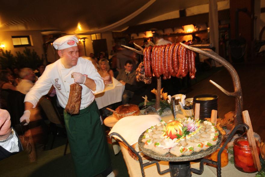 KL Daniel w Lesnie - Bal Myśliwski 5-11-2011 15