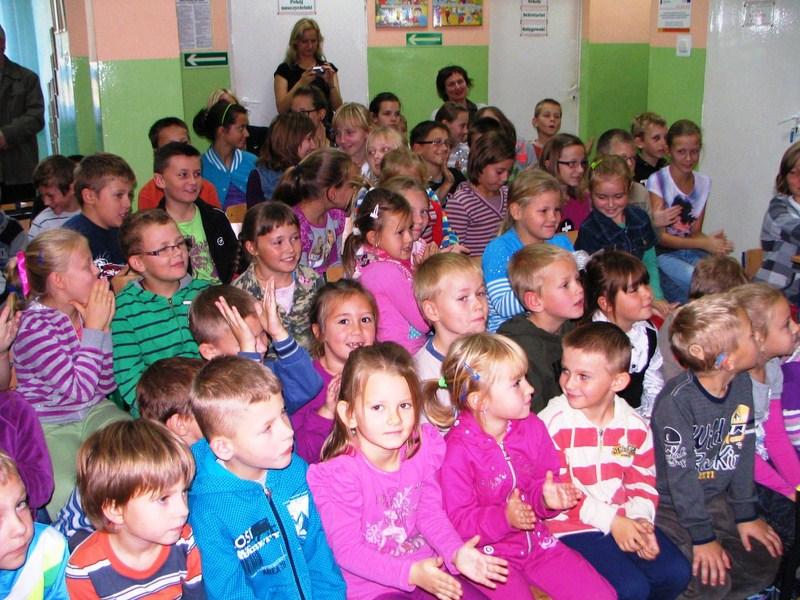 KL Daniel w Lesnie - Dzieci zwierzynie 2012-10 02