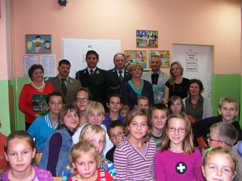 KL Daniel w Lesnie - Dzieci zwierzynie 2012-10 05