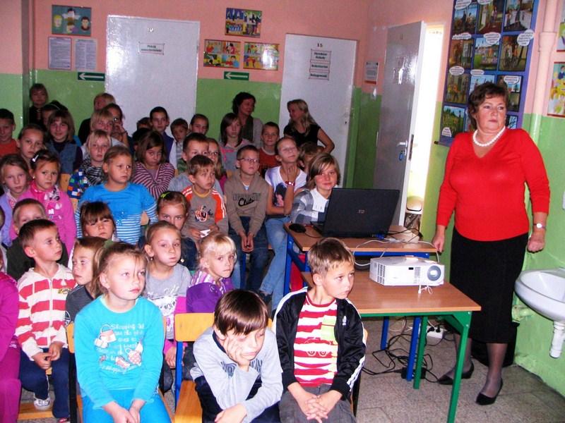 KL Daniel w Lesnie - Dzieci zwierzynie 2012-10 14
