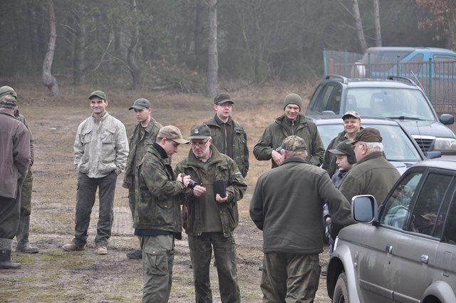 KL Daniel w Lesnie - Liczenie losi 2015-02 13