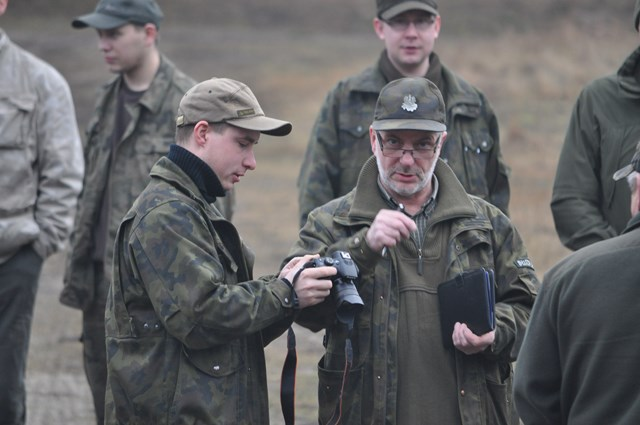 KL Daniel w Lesnie - Liczenie losi 2015-02 16