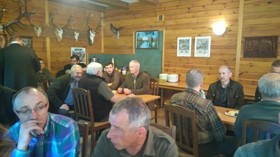 KL Daniel w Lesnie - Liczenie losi 2015-02 17