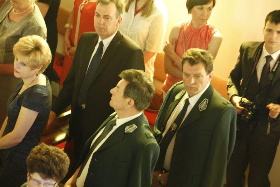 KL Daniel w Lesnie - Oltarz 2012 05