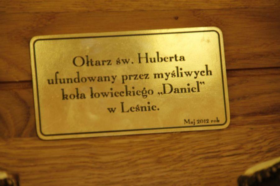 KL Daniel w Lesnie - Oltarz 2012 09