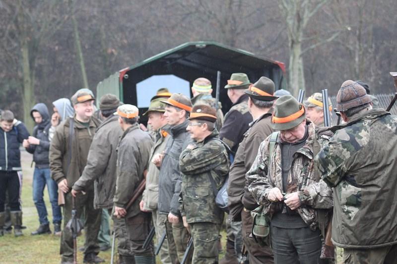 KL Daniel w Lesnie - Polowanie Hubertowskie 2013 01