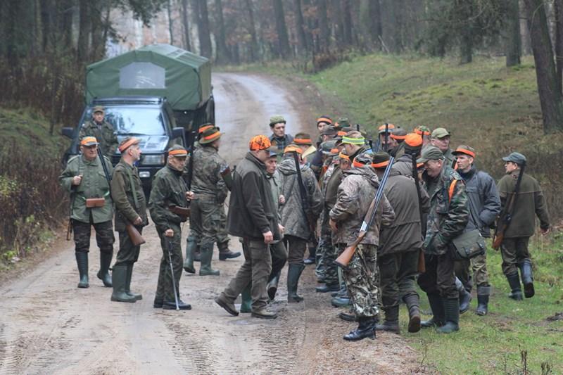 KL Daniel w Lesnie - Polowanie Hubertowskie 2013 10