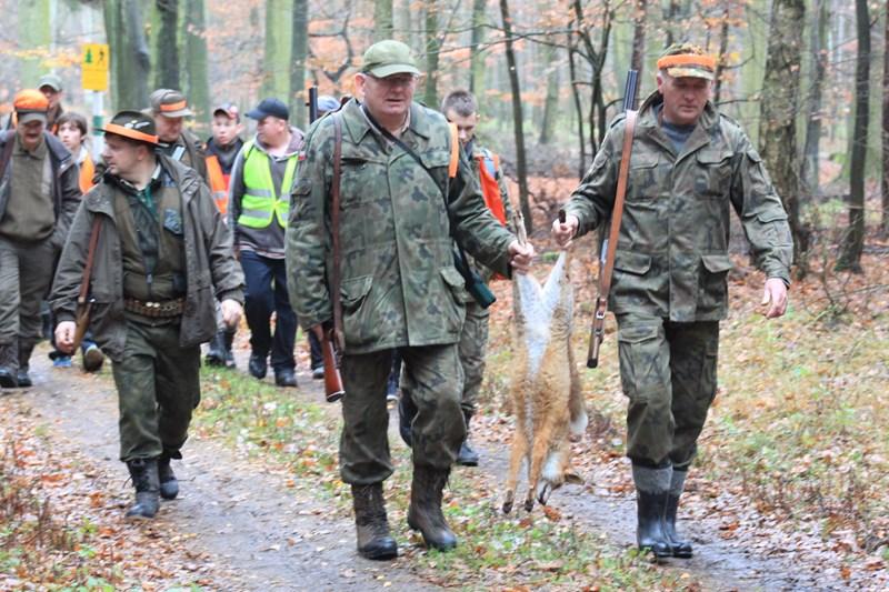 KL Daniel w Lesnie - Polowanie Hubertowskie 2013 20