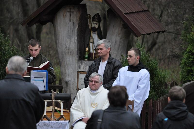 KL Daniel w Lesnie - Polowanie Hubertowskie 2013 42