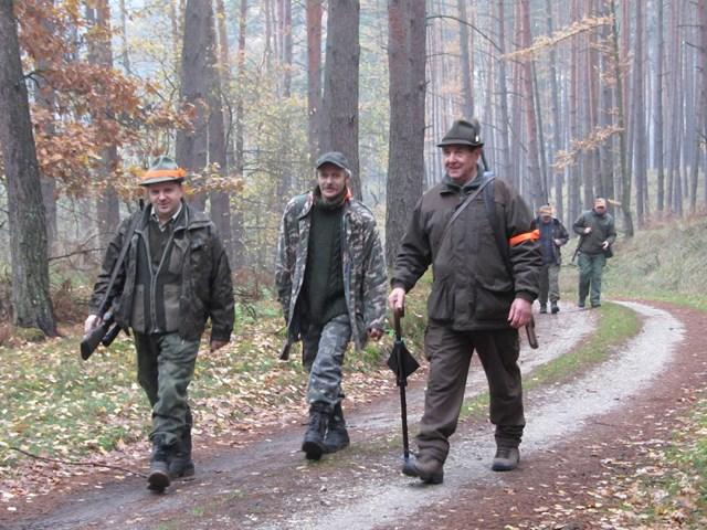 KL Daniel w Lesnie - Polowanie Hubertowskie 2014 12