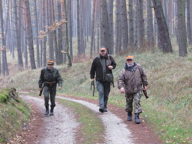 KL Daniel w Lesnie - Polowanie Hubertowskie 2014 15