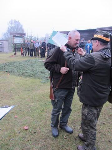 KL Daniel w Lesnie - Polowanie Hubertowskie 2014 19