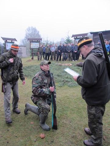 KL Daniel w Lesnie - Polowanie Hubertowskie 2014 21
