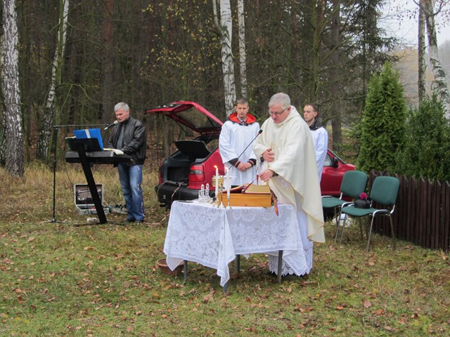 KL Daniel w Lesnie - Polowanie Hubertowskie 2014 28