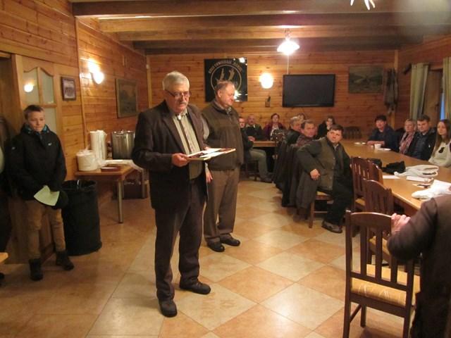 KL Daniel w Lesnie - Polowanie Hubertowskie 2014 30