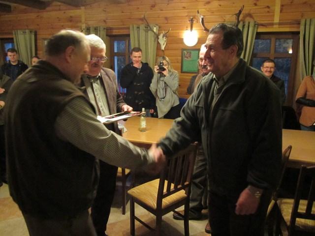 KL Daniel w Lesnie - Polowanie Hubertowskie 2014 32