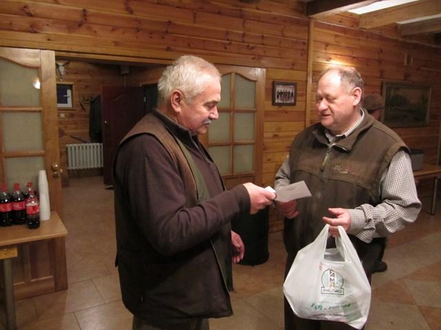 KL Daniel w Lesnie - Polowanie Hubertowskie 2014 39