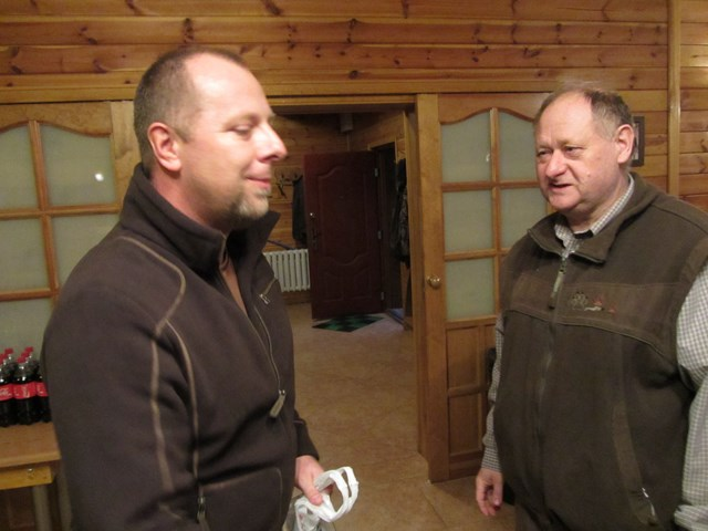 KL Daniel w Lesnie - Polowanie Hubertowskie 2014 41