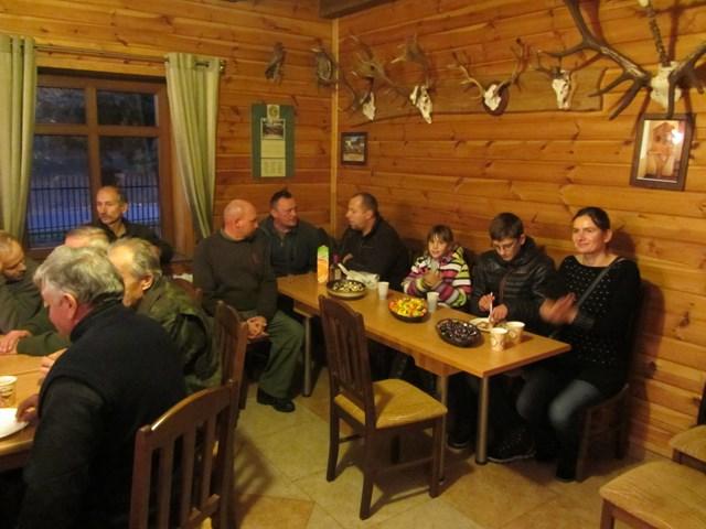 KL Daniel w Lesnie - Polowanie Hubertowskie 2014 43