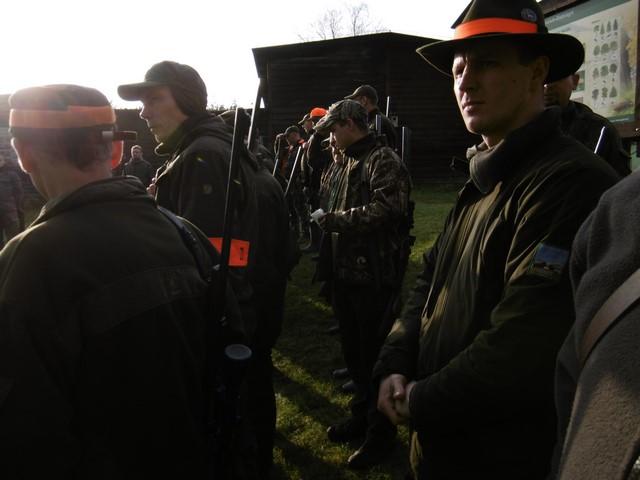 KL Daniel w Lesnie - Polowanie hubertowskie 2017-11 14