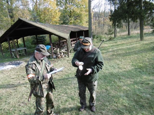 KL Daniel w Lesnie - Polowanie hubertowskie 2017-11 15