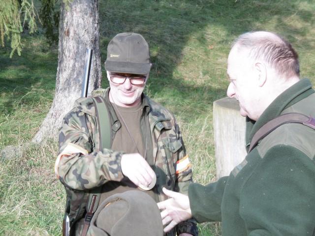 KL Daniel w Lesnie - Polowanie hubertowskie 2017-11 16