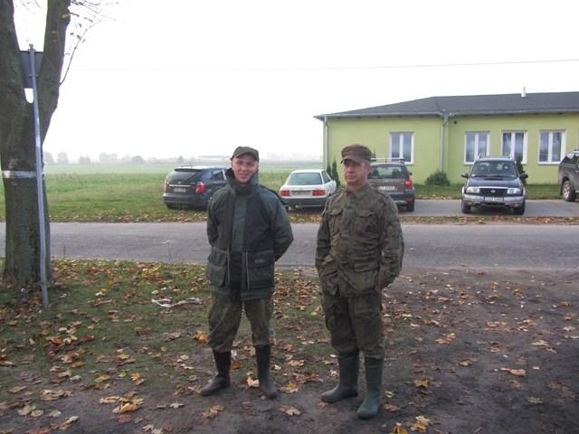 KL Daniel w Lesnie - Polowanie na bazanty i chrzest 2014 04
