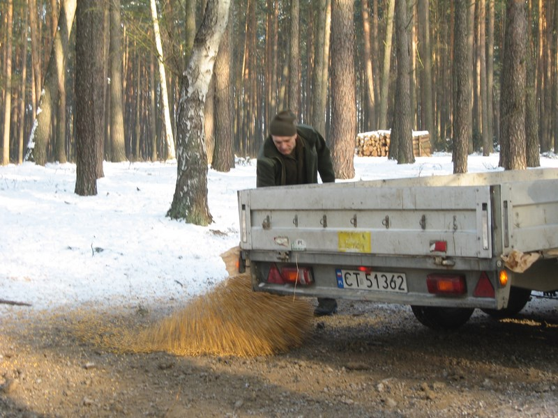 KL Daniel w Lesnie - Praca w lowisku 2014-01-25 09