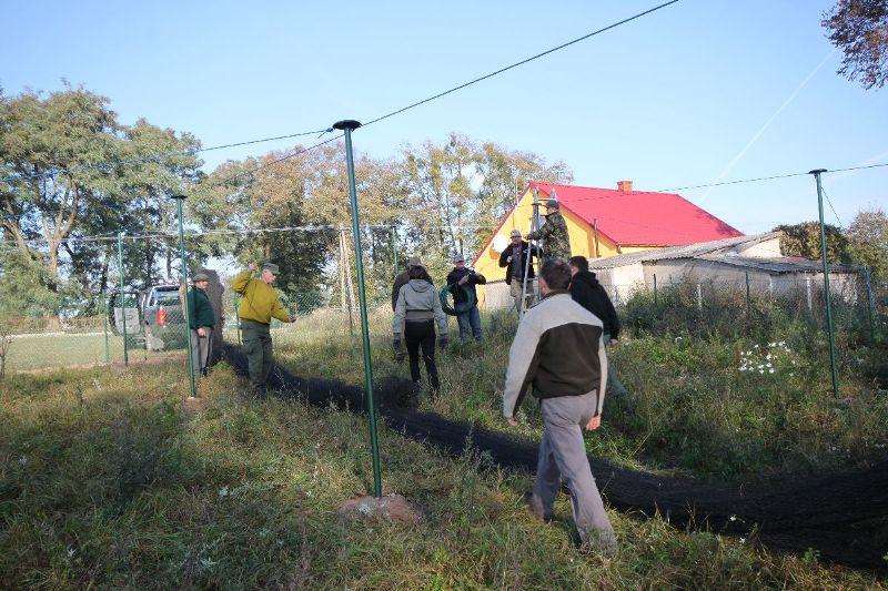 KL Daniel w Lesnie - Woliera 2010-10 03