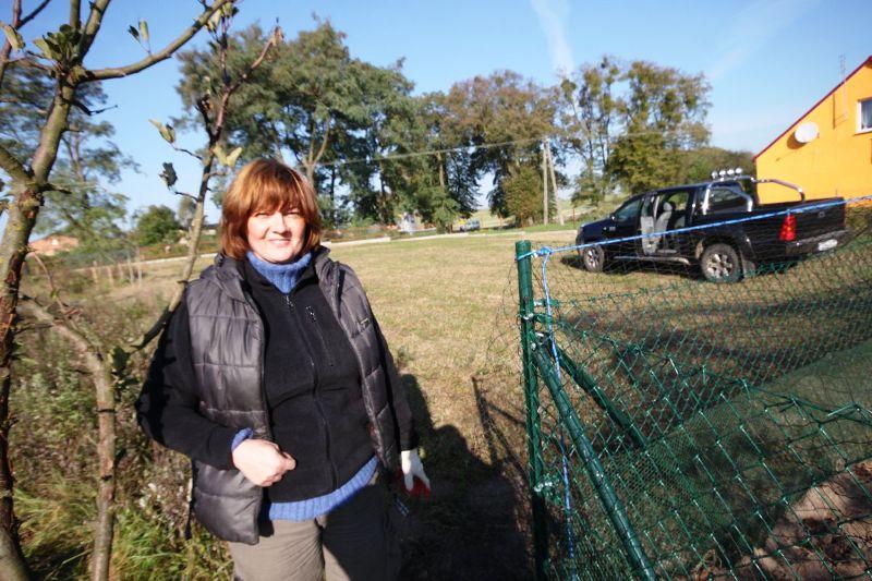 KL Daniel w Lesnie - Woliera 2010-10 11