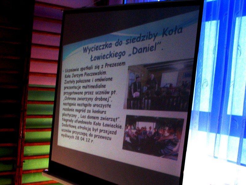 KL Daniel w Lesnie - Dzieci zwierzynie 2012-10 07