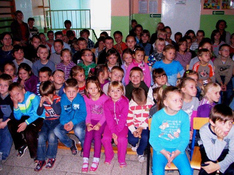 KL Daniel w Lesnie - Dzieci zwierzynie 2012-10 09