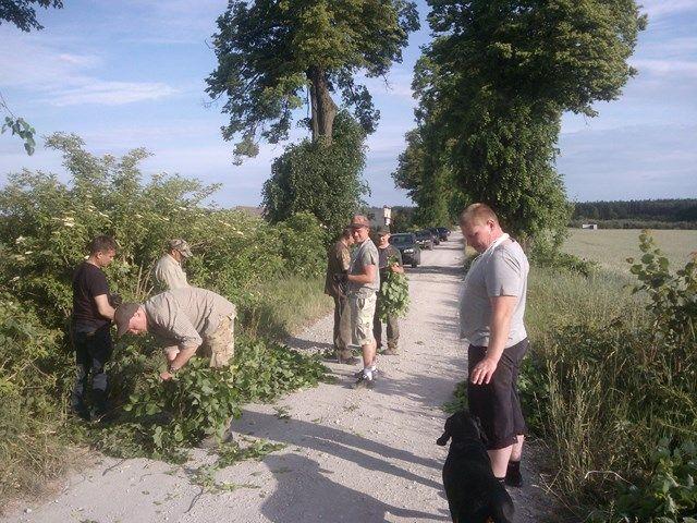 KL Daniel w Lesnie - Lisciarka 2015-06 02
