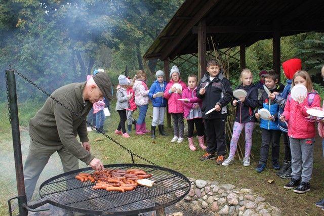 KL Daniel w Lesnie - Mysliwi dzieciom 2017-10 06