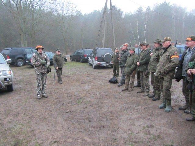KL Daniel w Lesnie - Polowania zbiorowe 2014 05
