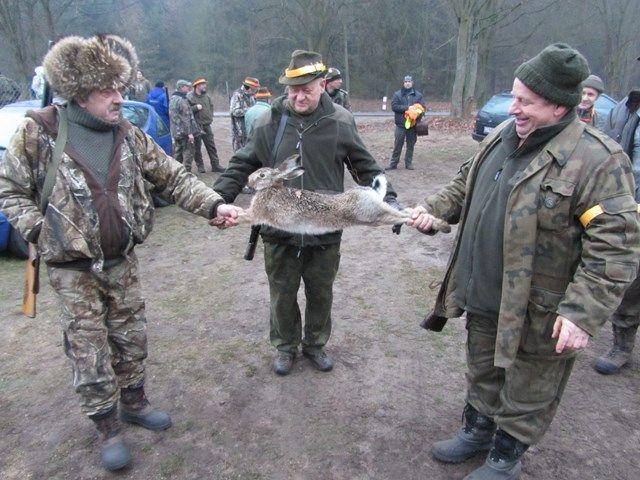 KL Daniel w Lesnie - Polowania zbiorowe 2014 15