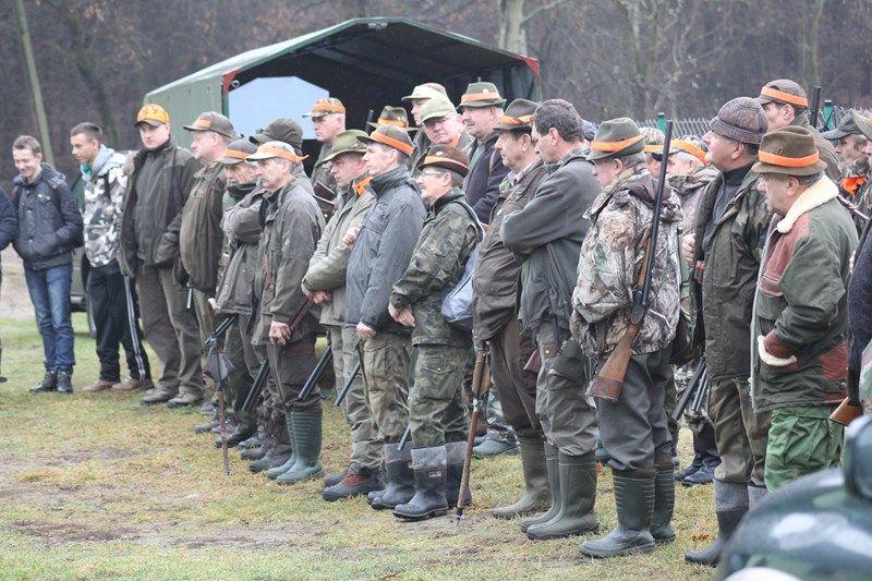 KL Daniel w Lesnie - Polowanie Hubertowskie 2013 05