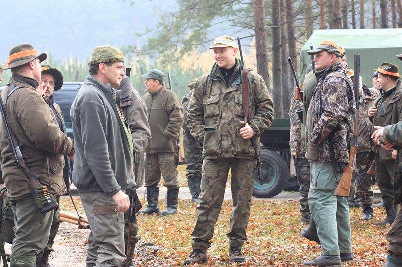 KL Daniel w Lesnie - Polowanie Hubertowskie 2013 07