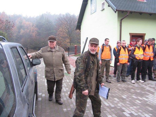 KL Daniel w Lesnie - Polowanie Hubertowskie 2014 03