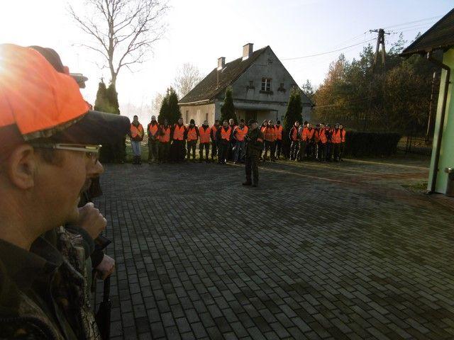 KL Daniel w Lesnie - Polowanie hubertowskie 2017-11 02
