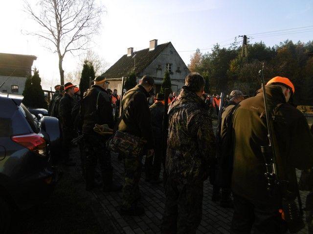 KL Daniel w Lesnie - Polowanie hubertowskie 2017-11 03