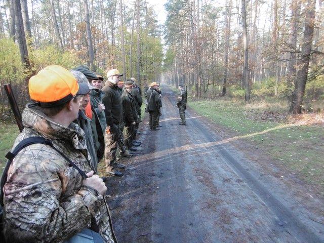 KL Daniel w Lesnie - Polowanie hubertowskie 2017-11 06