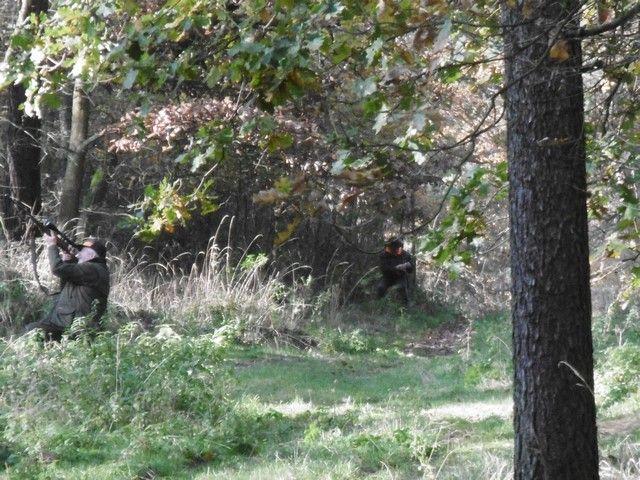 KL Daniel w Lesnie - Polowanie hubertowskie 2017-11 11