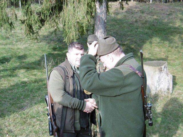 KL Daniel w Lesnie - Polowanie hubertowskie 2017-11 17