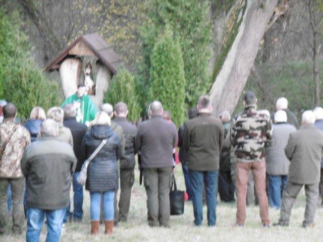 KL Daniel w Lesnie - Polowanie hubertowskie 2017-11 22