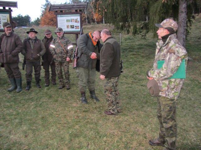 KL Daniel w Lesnie - Polowanie zbiorowe 2017-11 14