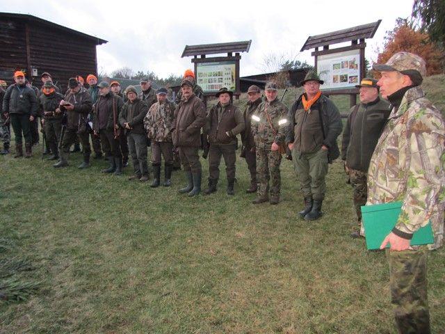 KL Daniel w Lesnie - Polowanie zbiorowe 2017-11 16