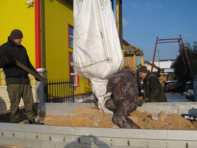 KL Daniel w Lesnie - Praca w lowisku 2014-01-25 02