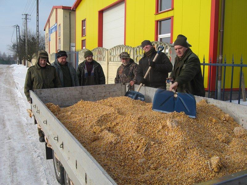 KL Daniel w Lesnie - Praca w lowisku 2014-01-25 06