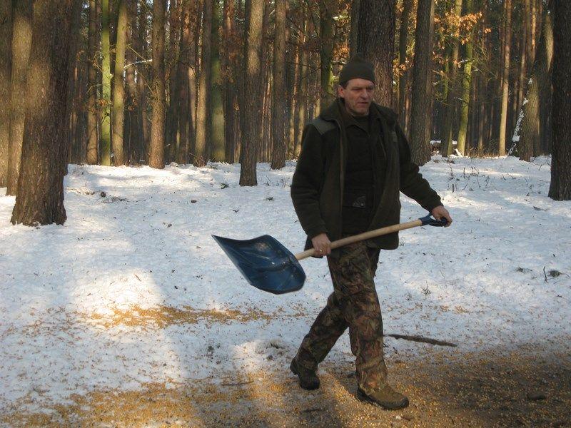 KL Daniel w Lesnie - Praca w lowisku 2014-01-25 12
